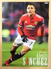Alexis Sanchez Philippe Coutinho Poster Soccer Football Magazine Extra Issue