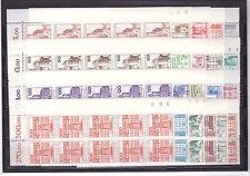 Berlin Eckrand 10er VIERERBLOCK 532, 587, 673 komplett Burgen B + S postfrisch