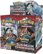 Pokemon TCG Sun & Moon Crimson Invasion English Half Booster Box Presale