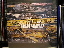 DA BEATMINERZ - BRACE 4 IMPAK (VINYL 2LP) 2001!!  RARE!!  RAS KASS + PETE ROCK!!