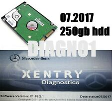 Mercedes 07.2017 MB STAR C4 SD Connect Xentry Das Diagnostics HDD service Dell