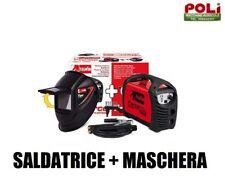 SALDATRICE + MASCHERA CON VETRO FISSO TELWIN FORCE INVERTER 145