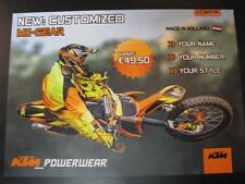 Flyer KTM Powerwear Customizes MX-Gear