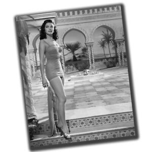 Yvonne De Carlo FINE ART Vintage Retro Photo Glossy Big Size 8X10inch α099