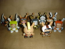 Kidrobot Huck Gee Post Apocalypse Dunny Full Set Of 13 Signed + Box & Card 1 2 3