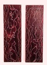 "53/"" Bolsa De Espada De Seda Roja Florece sintético para espada KATANA SAMURAI JAPONESA QD7"