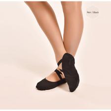 demi-pointes de danse bi-semelles DANSEZ-VOUS Vanie noires, du 30 au 42