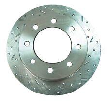 SSBC Performance Brakes 23174AA3R Big Bite Cross Drilled Rotors