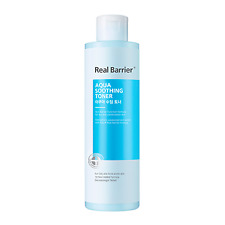 Real Barrier Aqua Soothing Toner 200ml / Hydrating, PH Balance / Free Tracking