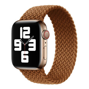 Braided Solo Loop for Apple Watch Series 6 SE 5 4 3 2 iWatch Band Strap 40/44mm