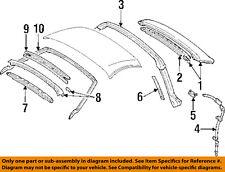 TOYOTA OEM 93-95 Supra Roof-Rear Weatherstrip Weather Strip 6325214020