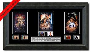 Star Wars Trilogy film cell (1999,2002,2005)