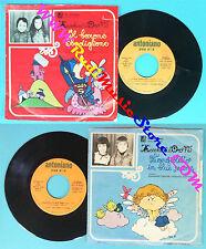LP 45 7'' ZECCHINO D'ORO Il barone sbadiglione L'angioletto blue no cd mc vhs