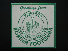 BORDER FOOTWEAR PINNAROO SA HUB OF THE MALLEE COASTER