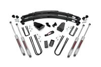 """Ford F250 4"""" Suspension Lift Kit w/ Shocks 1987-1997 4WD Rough Country"""
