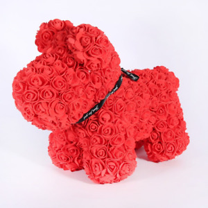 Rose Dogs Large 30cm Gift Wrapped in Many Colours