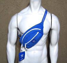 NEW ADIDAS ORIGINALS BLUE FRENCH TERRY FANNY PACK RBCK-199