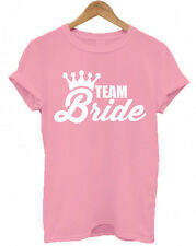 TEAM BRIDE PERSONALISED HEN DO / NIGHT T SHIRTS, HEN PARTY Groom T Shirt Tee Top