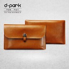 "Genuine D-Park Manica Marsupio Borsa in pelle per Tablet iPad Mini TAGLIA 7.9"""