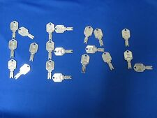 New! 20 Usa High Quality Forklift Ignition Key Keys You Get (20 Keys)