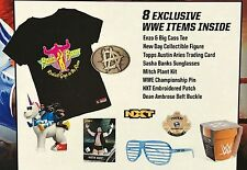 WWE Slam Crate First Enzo Big Cass New Day Sasha Banks Winged Eagle Loot SEALED