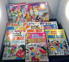 Archie Digest Comics - Betty And Veronica Lot Of 17