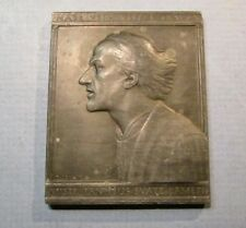 Jan Hus John Huss Plaque Bohemia Czechoslovakia Hussite Zizka Reformer SPANIEL