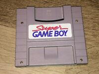 Super Game Boy Super Nintendo Snes Cleaned Tested Authentic