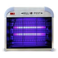 Zanzariera Elettrica 2 Lampade Fluorescenza Anti Zanzare Giardino 16w Mt-016 dfh