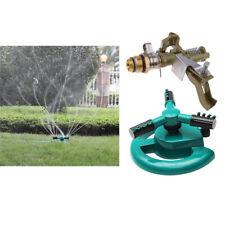Automatic Garden Water Sprinklers Lawn Irrigation Rotating&Impact Sprinkler