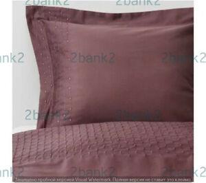 IKEA New PRAKTVIVA Twin Duvet Cover Pillowcase Bedding 503.798.29 Embroidered