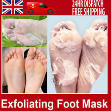 Exfoliating Peel Renewal Foot Mask Baby Soft Feet Remove Dead Skin Cuticles UK !