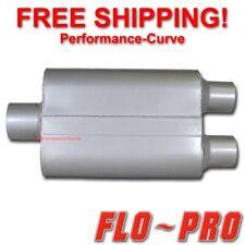 """2 Chamber Performance Exhaust Street Muffler FLO-PRO Super V 3"""" / 2.5"""" - V430402"""