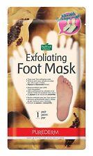 Purederm Exfoliating Foot Mask Papaya Chamomile Extract Refreshes Feet