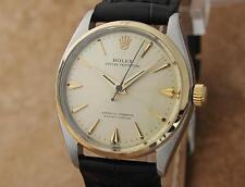Rolex 6564 Automatic 1946 serial 469159 Men's Vintage 33mm Luxury Watch LV38