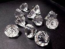 Acrylic Teardrop Faceted Jewellery Making Beads