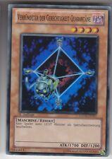 YU-GI-OH Verbündeter der Gerechtigkeit Quarantäne Super Rare HA03-DE051