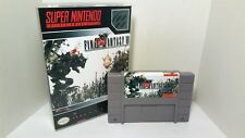 Final Fantasy VI 6 - English SNES Translation NTSC - Gray Cartridge FF