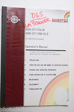 Noritsu Print Processing QSS 2711DLS 2711SM Operator's Manual - English - USED