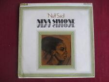 Nina Simone orig UK RCA mono pressing Lp RD 7979- 'Nuff Said