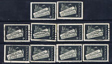 """Canada #375(1) 1958 5 cent black NEWSPAPER INDUSTRY """"A FREE PRESS"""" 10 Used"""
