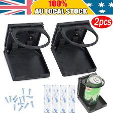2Pcs waterproof Folding Cup Drink Bottle Holder Stand Mount for Car Boat RV Van