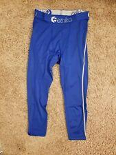 Ethika Men's S Compression 3/4 Tights Subzero Blue Performance Underwear
