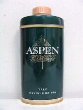 ASPEN TALC TIN BY COTY MEN FRAGRANCE PERFUME COLOGNE BODY POWDER (HYA-093*K)