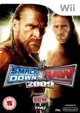 Wwe Smackdown VS Raw 2009 (wrestling) UK Import Nintendo Wii THQ