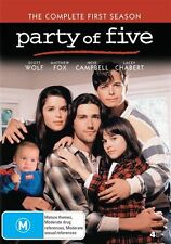 Party Of Five : Season 1 (DVD, 4-Disc Set). Ex rental
