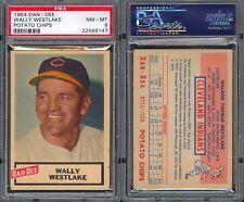 1954 DAN-DEE DAN DEE POTATO CHIPS WALLY WESTLAKE PSA 8 (9147)