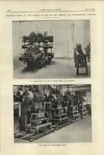 1920 Machine Tools At Vulcan Motor Engineering Works Crossens