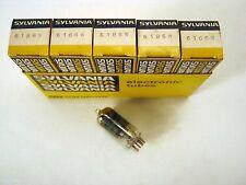 5 Pcs Nos Sylvania 6186W ( 6Ag5 ) Audio Radio vacuum Tubes Nib