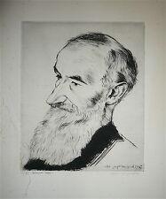 André JACQUEMIN Gravure Originale signée numérotée 1945